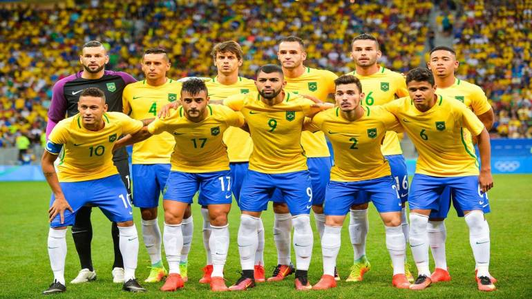 72258d133 FIFA World Cup 2018 Official squad  Group E – Team 17 – Brazil ...