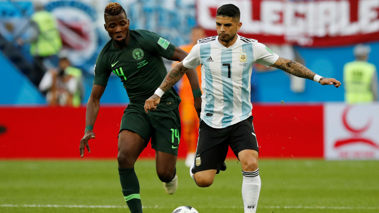 Ever Banega | The 29-year-old midfielder has been enterprising every time he has come on for Argentina in the group stages. His intelligent runs into the box as well as his ability to weave past defenders could prove vital for Argentina with Aguero still not firing on all cylinders. (Image: Reuters)