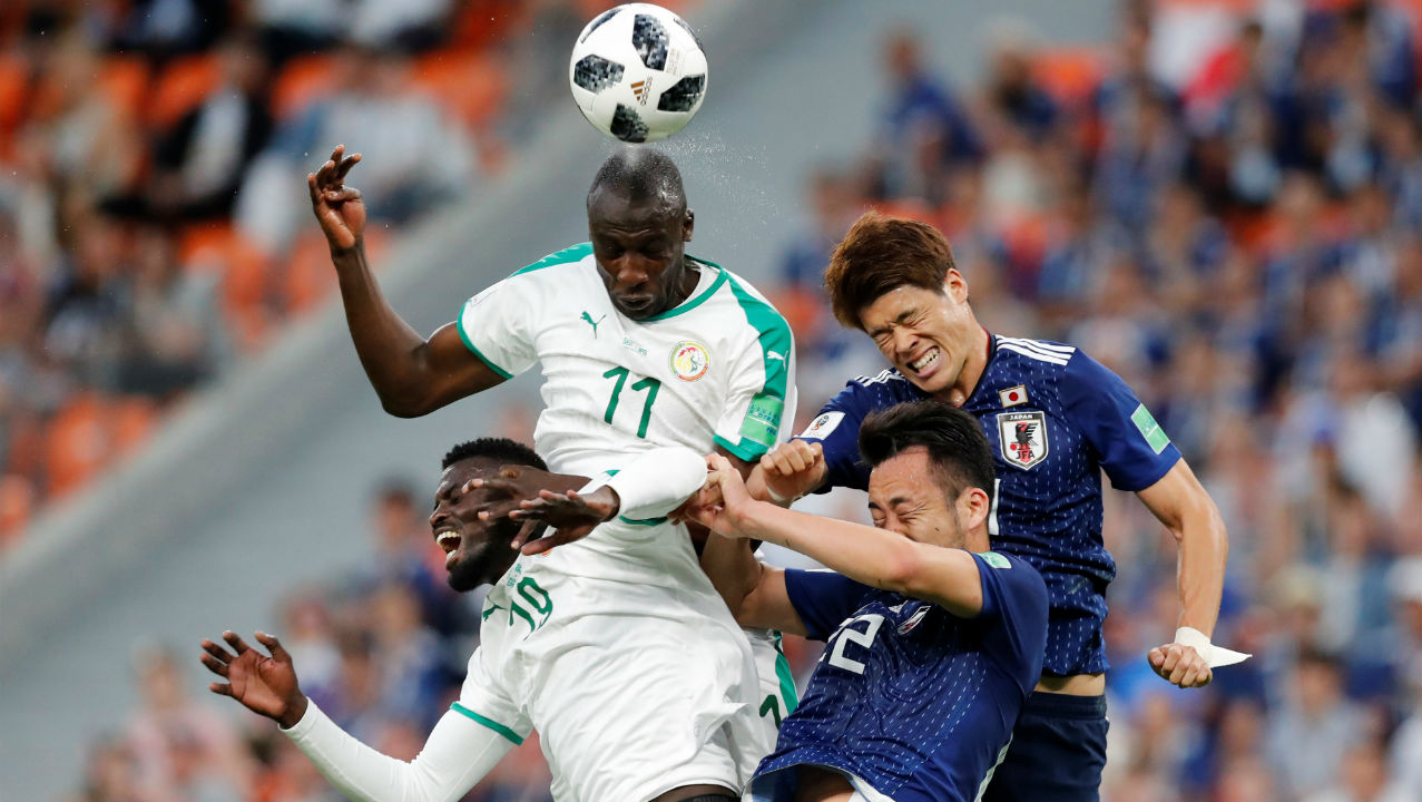 Based on the Fair Play points system Japan who had a total of four yellow cards as against Senegal's six bookings went through to the last 16 even though they were tied on all other six parameters that come into play when teams finish tied on points.