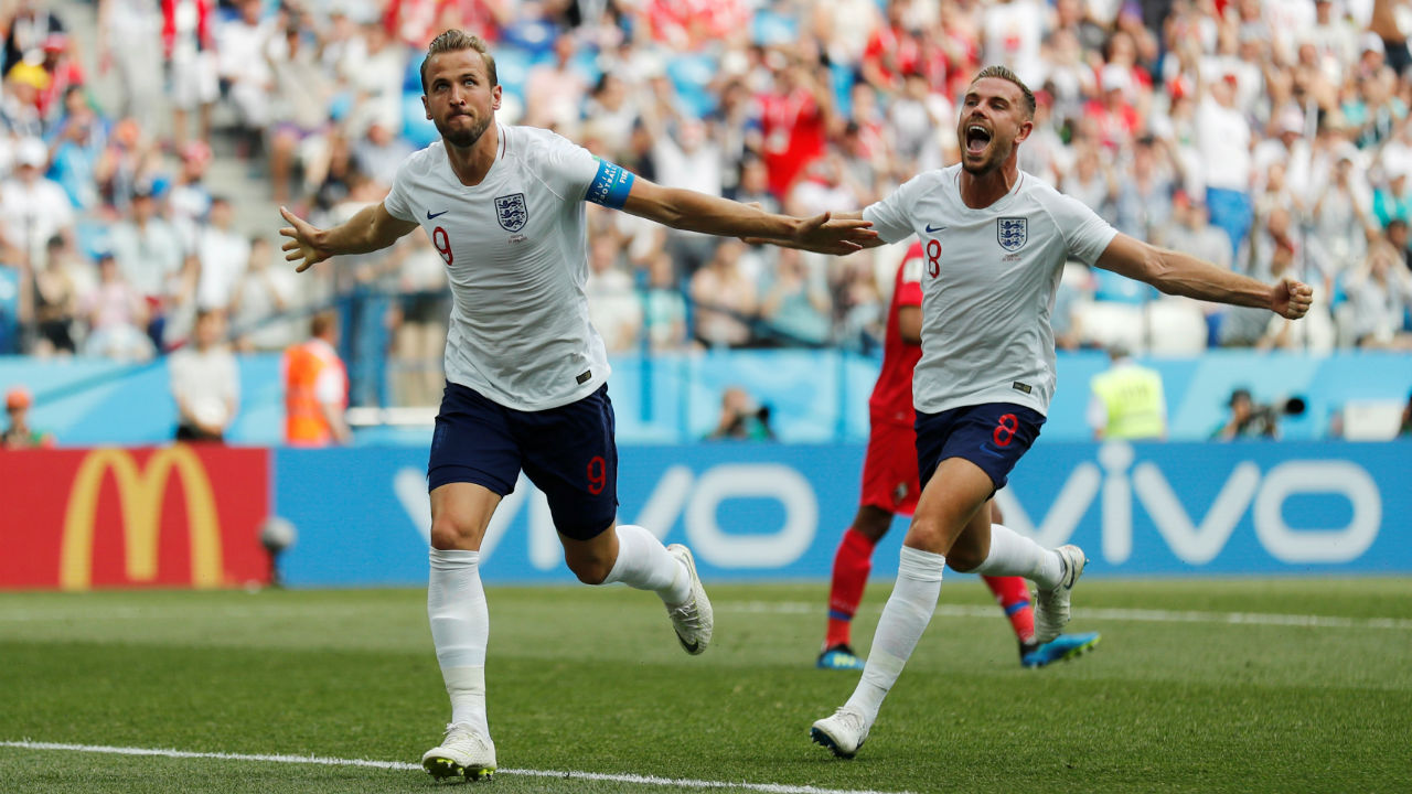 Kane was a bit lucky when he became the first England player since Gary Linekar to score a World Cup hat-trick. Loftus Cheek's long range shot hit Kane's boot and completely wrong-footed Penedo as the ball crept into the Panama goal