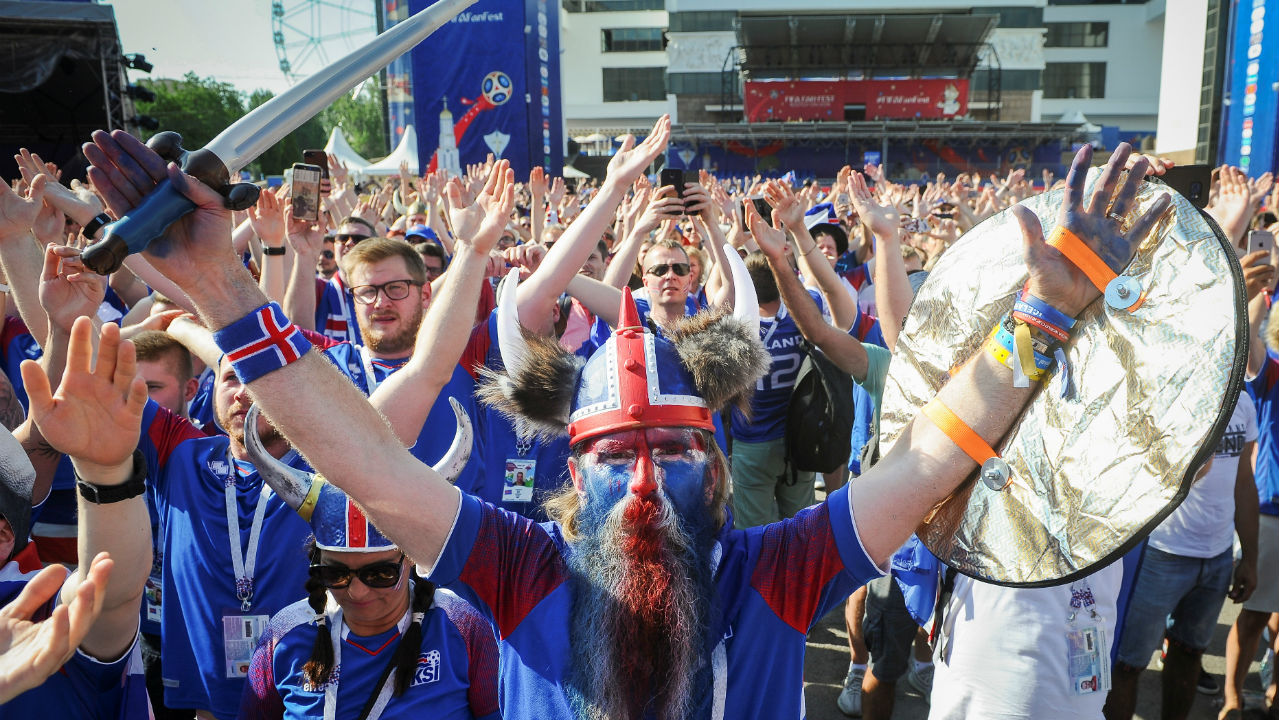 Smallest country by population to participate | With a population of 337,669 people, Iceland became the smallest country by population to participate in the FIFA World Cup. The previous record was held by Trinidad & Tobago when it qualified for the 2006 World Cup with a population of just 1.3 million.