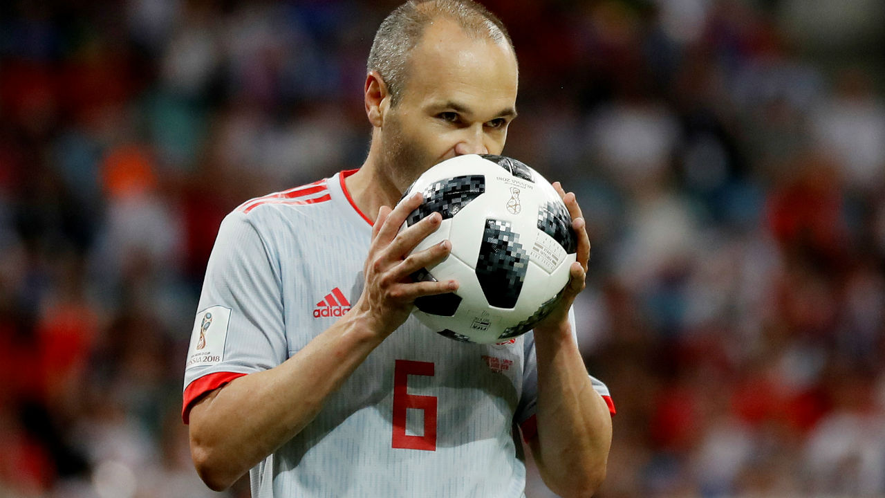 Andres Iniesta | The legendary midfielder could be playing in his last World Cup but hasn't shown any signs of slowing down so far. His assist against Iran resulted in the only goal of the game helping Spain pick up all three points. Spain will be hoping he is able to pick his way through the host country's defence when they take the field tonight.