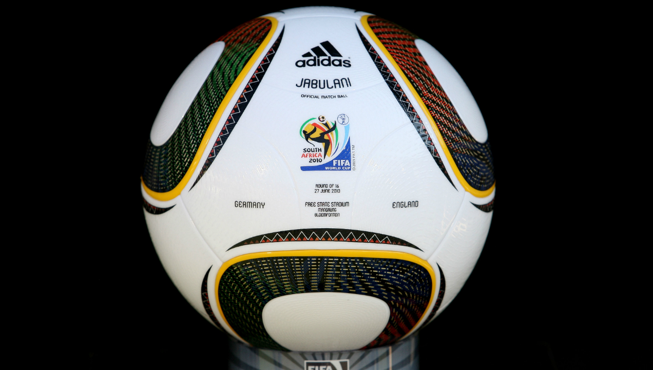 Jabulani (South Africa 2010) | This ball is often remembered as one of the most hated balls of all time. The Jabulani was made using just eight panels and incorporated a patterned surface that was meant to improve its aerodynamics. The ball came in for a lot of criticism from the players because of its unpredictable flight which caused keepers numerous problems throughout the tournament.
