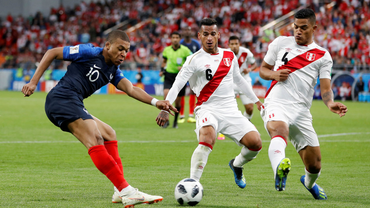 5. Kylian Mbappe (France) - 3 goals<br /> The French teenager is on fire at the moment. His lightening pace, quick feet and eye for goal have seen him grab 3 goals at the World Cup. And he is just 19 years old. His brace against Argentina was particularly memorable, as France sent the South American side crashing out of the tournament. (Image: Reuters)