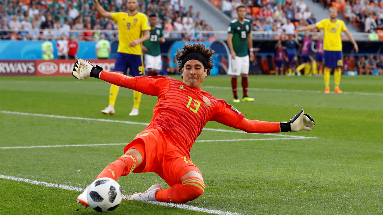 1. Guillermo Ochoa (Mexico) | No. of Saves - 25 | Matches played - 4 | Save rate - 80.6%