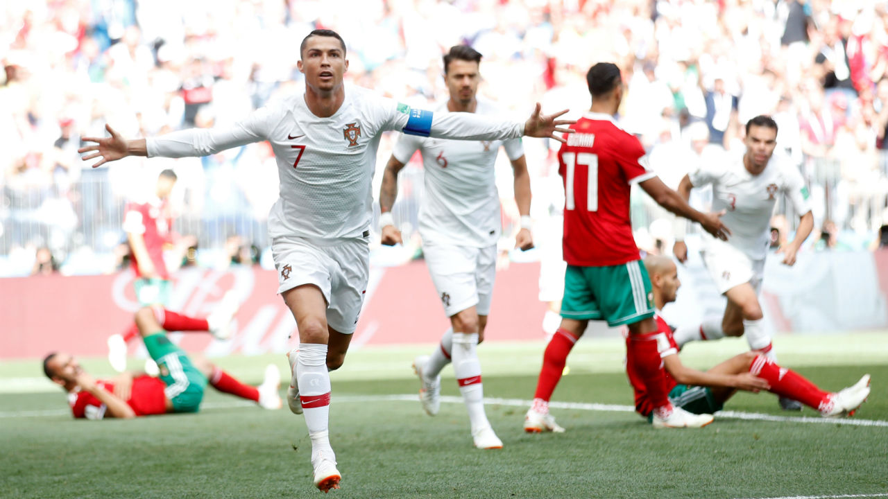 VAR drama as Portugal and Spain reach last 16