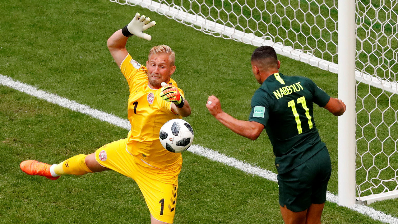 2. Kasper Schmeichel (Denmark)   No. of Saves - 21  Matches played - 4   Save rate - 91.3%