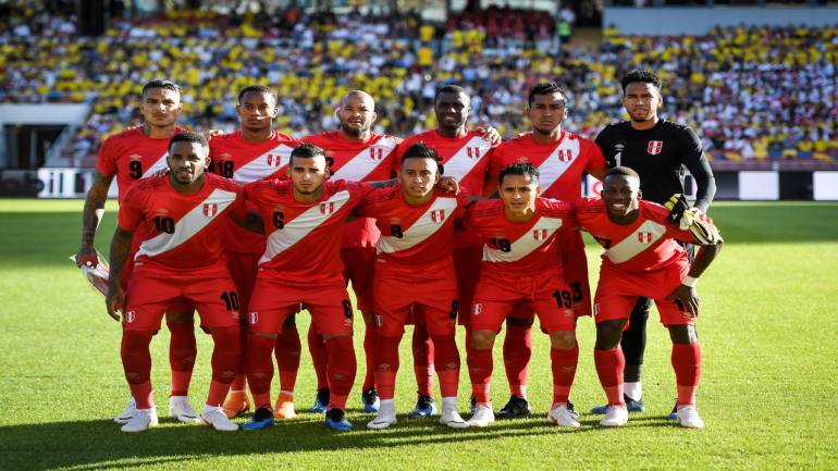 ee0028115 FIFA World Cup 2018 Official squad: Group C – Team 12 – Peru ...