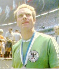 Q.3) Although he is considered the best German player since Beckenbauer, he is best known for one dubious piece of World Cup trivia: the only captain to lose 2 World Cup finals. Who is he?