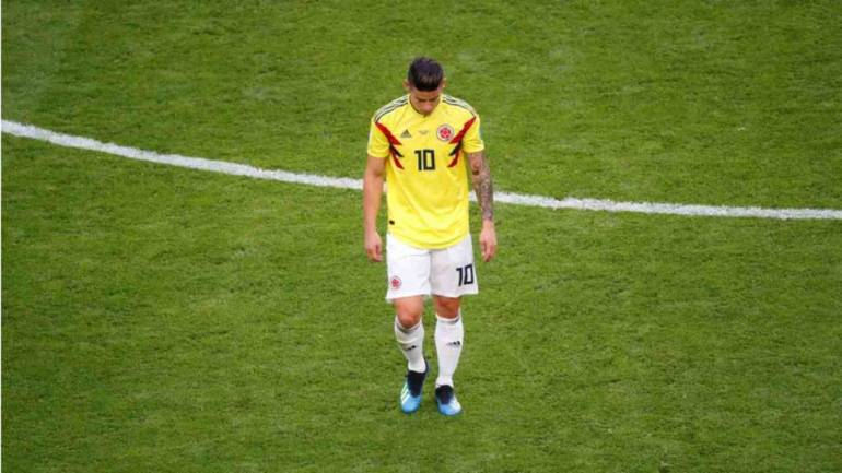 cheap for discount a191f e74fd FIFA World Cup 2018: Match Preview: James Rodriguez doesn't have 'serious  injury': Jose Pekerman