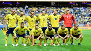 FIFA World Cup 2018 Official squad: Group F – Team 24 – Sweden