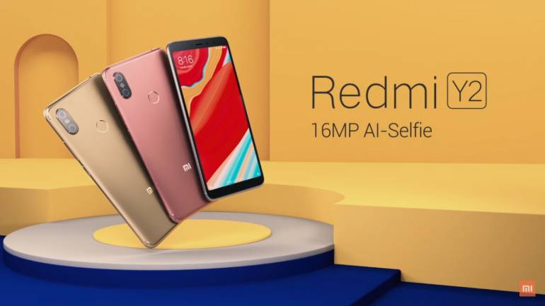 Redmi Y2 16 MP AI selfie camera