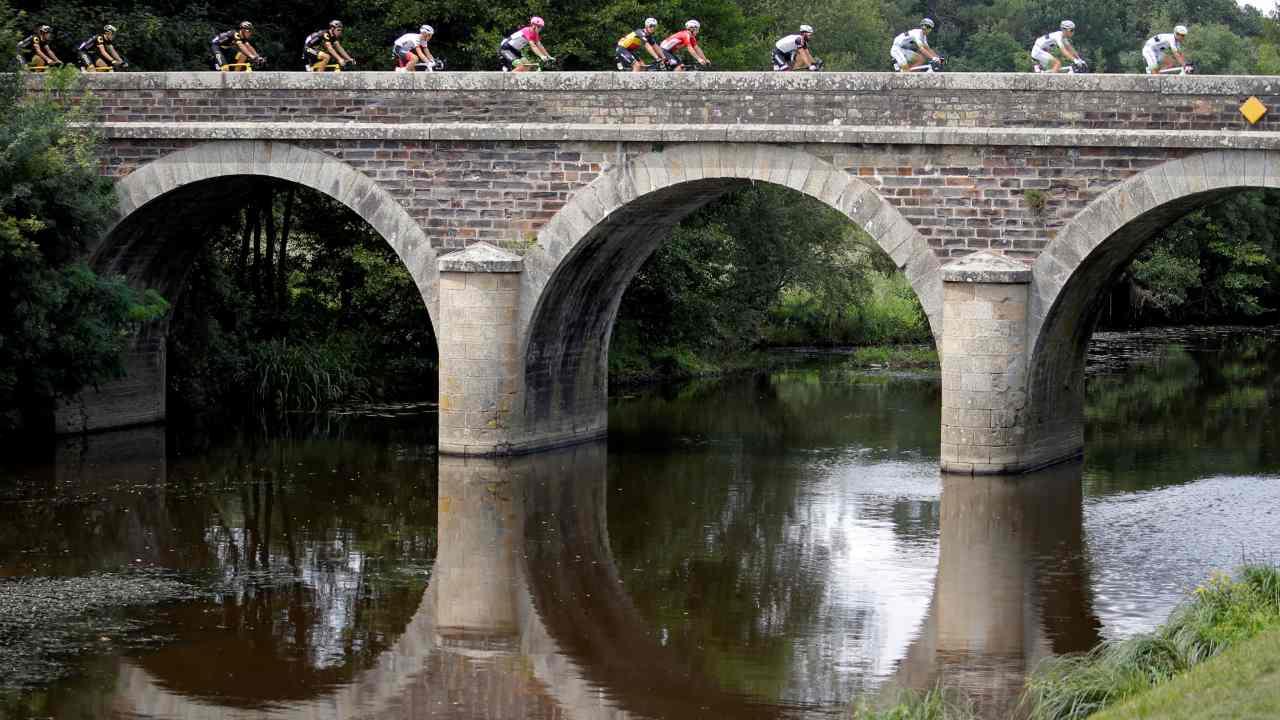 Cycling - Tour de France - The 195-km Stage 4 from La Baule to Sarzeau. (Reuters)