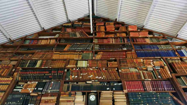 Bhagvad Gita in Urdu and Ramayan in Persian, a library of rare finds in  Walled City