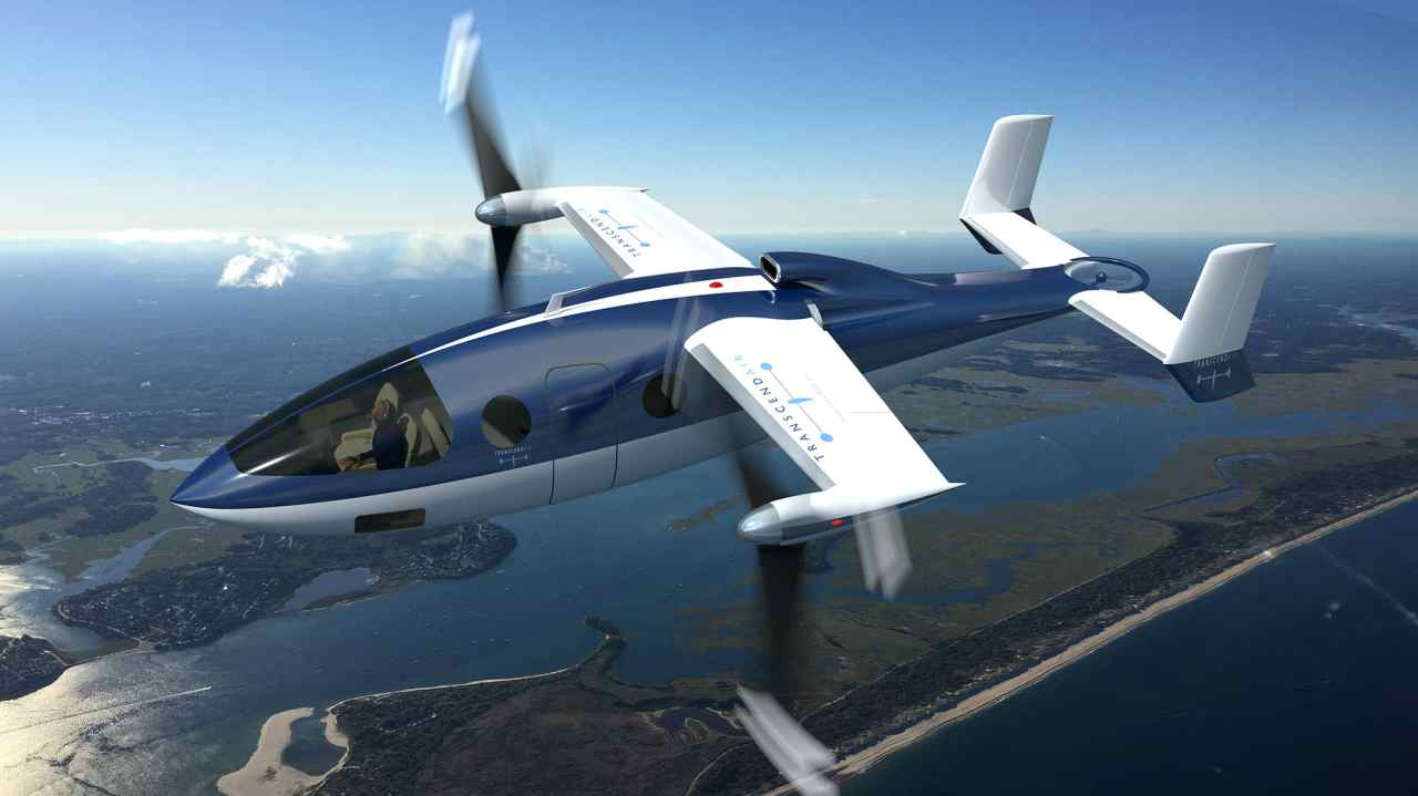 The Transcend Air Corporation has announced the development of a six-seater VTOL (vertical take-off and landing) aircraft designed for inter-city transportation. That means it does not need runways and airports and can use helipads atop major city centres.