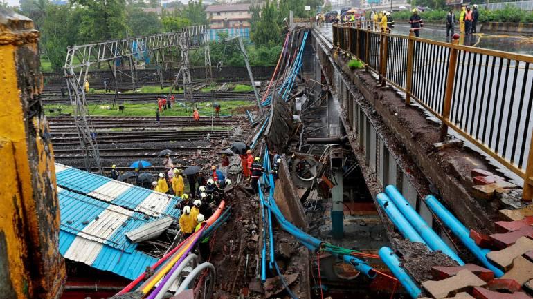 Woman injured in Andheri bridge collapse dies