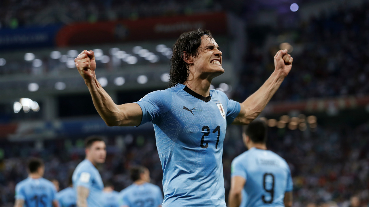 6. Edinson Cavani (Uruguay) - 3 goals<br /> Cavani and Suarez finally clicked for Uruguay in this tournament, and El Matador has greatly benefited from it. He bagged a goal during the group stages, but his best performance was against Portugal in the knockout round when he fired in two goals to take his side through to the quarterfinals. (Image: Reuters)