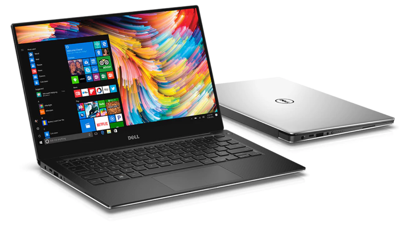 3. Dell XPS 13 | Weight: 1.25 kg | Screen size: 12.13 inches | Key Specs: Intel Core i7-8550U processor; 8 GB RAM; 256 GB storage | Price: Rs 1.46 lakh (approx.) (Image: Dell)
