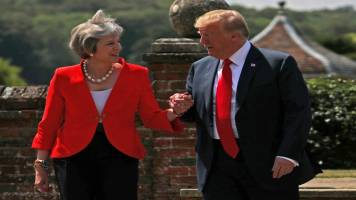 Trump suggested me to sue EU over Brexit, says Theresa May