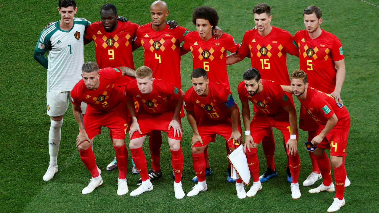 Belgium starting XI. (Image: Reuters)