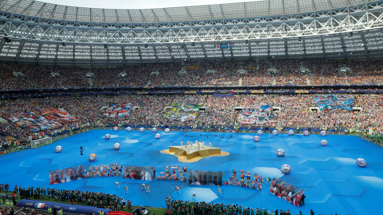 FIFA World Cup 2018: The closing ceremony in pics