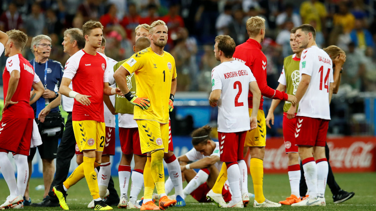 The Danish team were left heart-broken after all their efforts amounted to nothing. They will have to go home. But they have been wonderful throughout. (Image: Reuters)