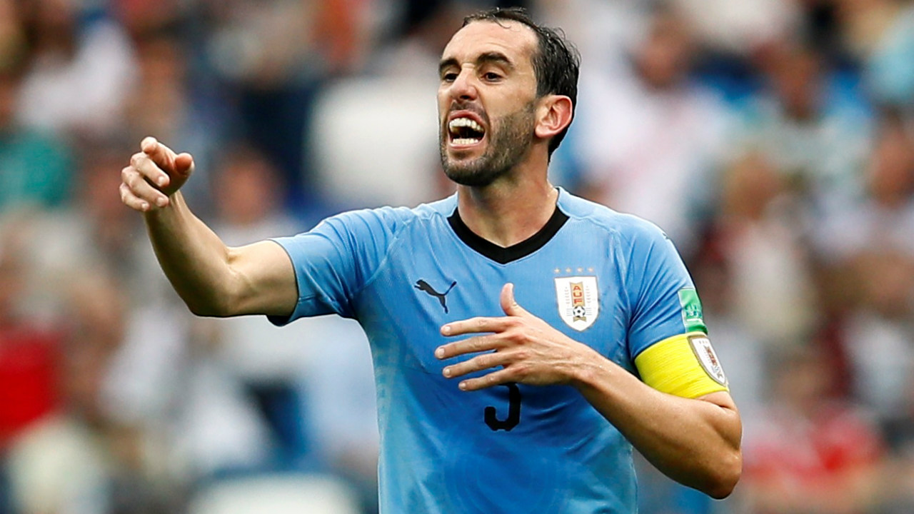Centre-back - Diego Godin (URU) | Uruguay's Diego Godin led a very tough defence in the tournament. In 5 games, Godin made 24 clearances and 2 blocks, while recovering the ball 29 times. Uruguay progressed to the knockout stages on the back of 3 wins, and 3 clean-sheets. Godin's leadership skills have also been vital to Uruguay, and he has the respect of his team-mates, anywhere he goes. A shoo-in for vice Captain as well. (Image: Reuters)