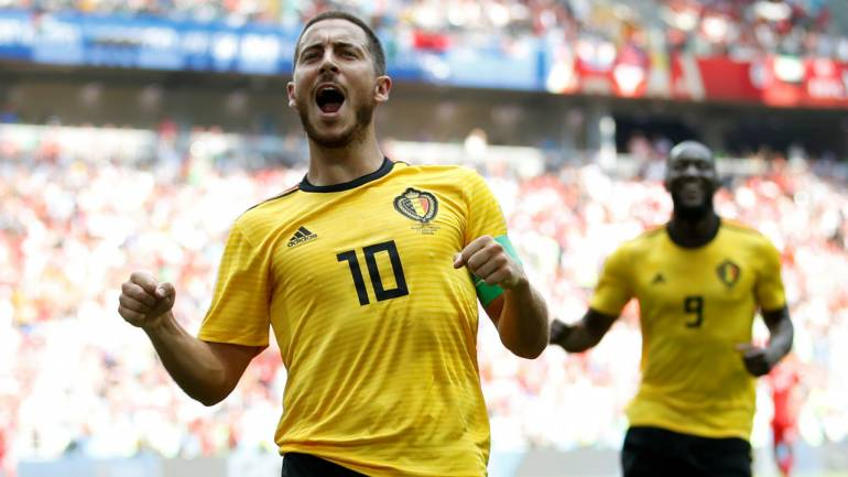 new product 4495d 053bf FIFA World Cup 2018: Belgium's Eden Hazard spells World Cup danger for  France