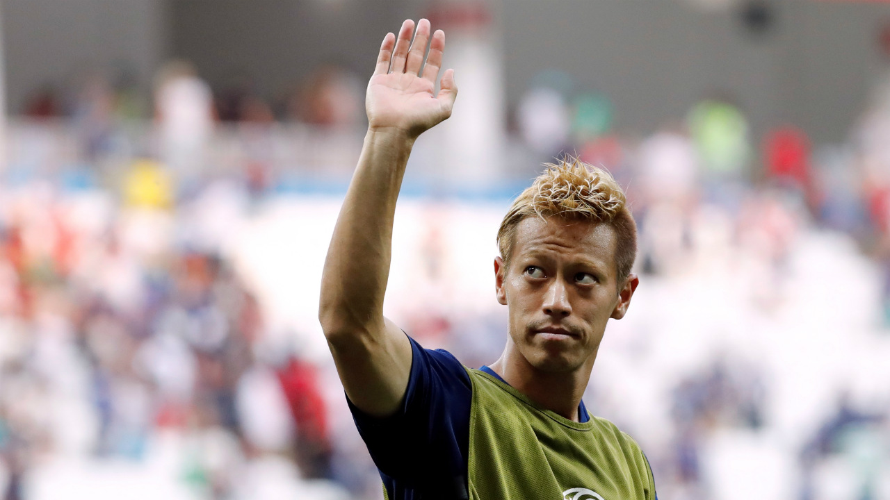 Keisuke Honda | Another experienced and internationally known Japanese hero, Kagawa has played only 38 minutes in two games for Japan. But he was effective off the bench when he scored against Senegal thaks to his good positioning. And he also bagged himself an assist. Both of his shots on goal have been on target, though only one resulted in a goal. What an impact player. (Image: Reuters)