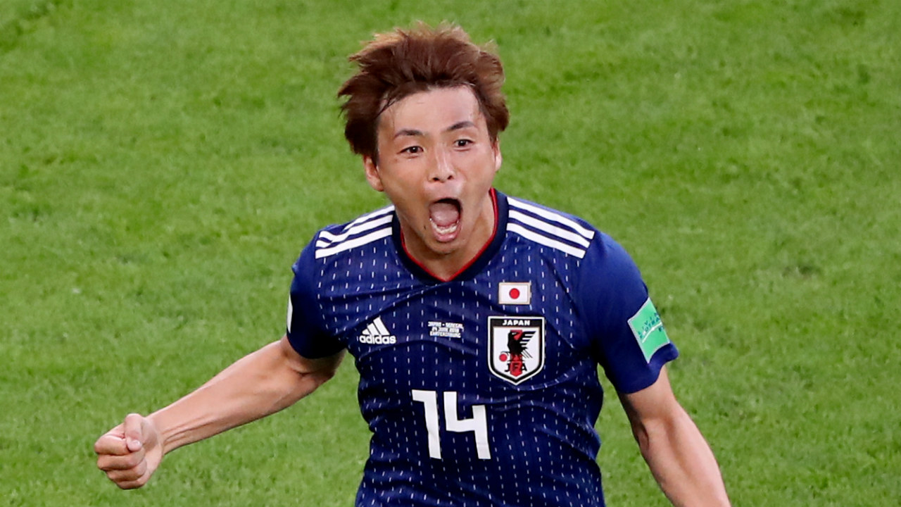 Takashi Inui | Japan's Inui has played all three of his side's group games. His presence is so influential in their attack, that when Poland took the lead in Japan's final group game, the manager sent him on in search of an equaliser. He has made a total of 87 passes with a success rate of 87.4%. Further, his goal came as a result of four shots on goal, two of them being target. The striker's link-up play in attack is effective.(Image: Reuters)