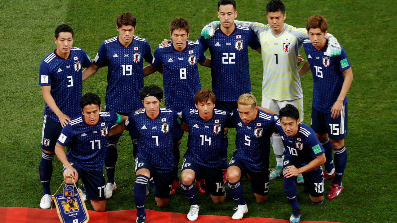 Japan starting Xi. (Image: Reuters)