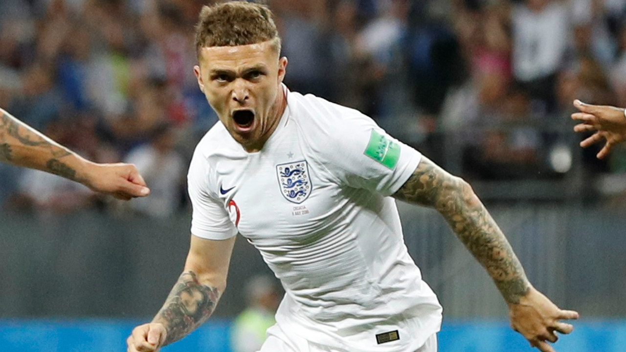 Right Wing - Kieran Trippier (ENG) | 'Bury Becks', as he is known all over England, lived up to his nick-name with an incredible free-kick goal against Croatia in the semi-finals. In 6 games, the Englishman covered 67.6 kms for the national side. Primarily a right-back, Trippier offered a lot in the middle of the park and attack as he completed 244 of 328 passes, sent in 40 crosses and assisted a goal. He did not shirk his defensive duties either, making 11 clearances, and 20 ball recoveries. (Image: Reuters)