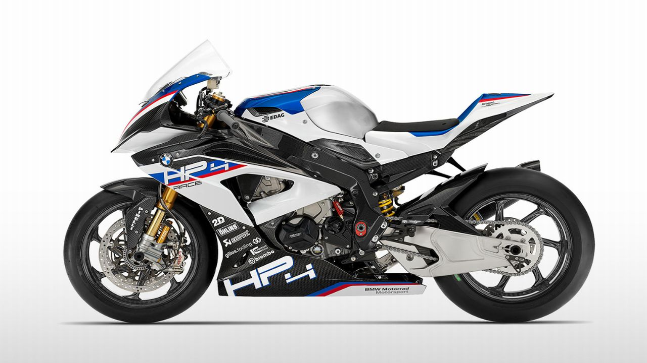 BMW HP4 Race | When BMW wanted to upgrade their lineup for the WSBK season, they had to comply with only one condition: sell 1,000 pieces of the motorcycle you want to pitch. Hence, the BMW HP4 Race was introduced to the world. Essentially a track-oriented superbike, the HP4 Race has every component which BMW thought was necessary to make the bike go faster. And fast it went, crushing many speed records and setting some of its own. With the majority of its parts made from carbon fibre, it is an extremely potent yet light machine to handle. (Image source: BMW)