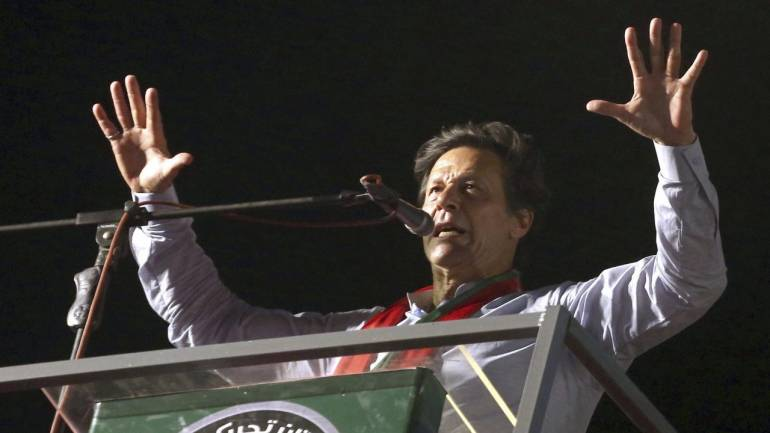 How a phone app and a database served up Imran Khan's