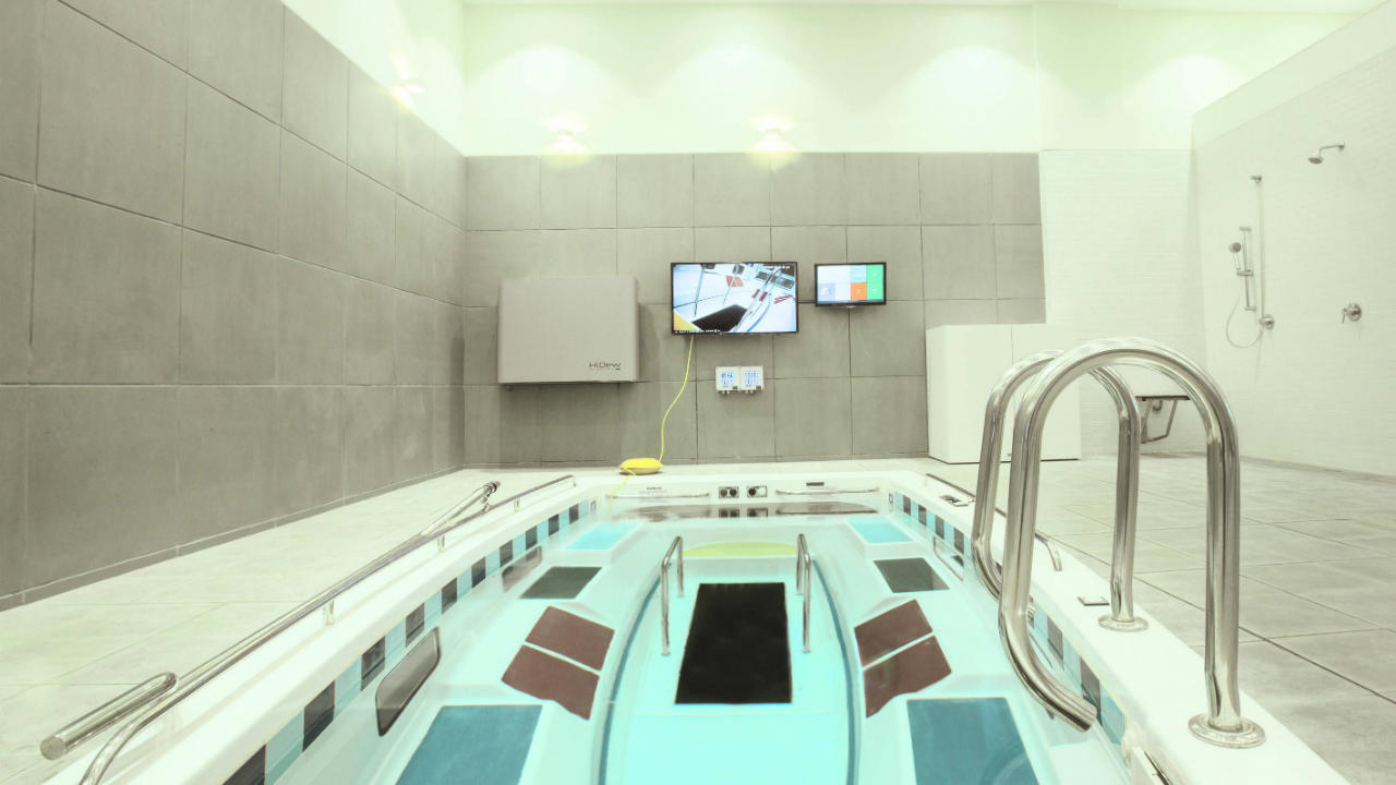 AquaCentric Therapy pool.