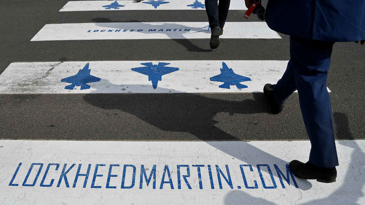 Answer: Lockheed Martin (Image: Reuters)