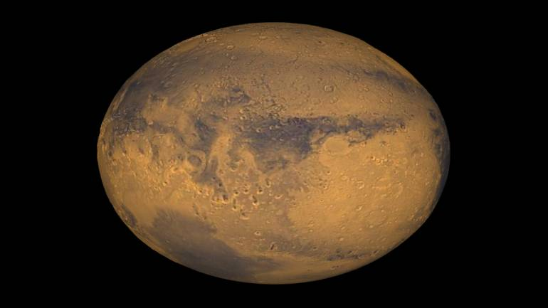 Mars Has a Lake of Liquid Water