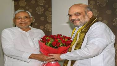 Amit Shah meets Nitish Kumar over breakfast