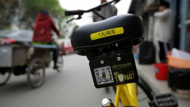 Chinese bicycle-sharing startup Ofo fires staff, halts operations in India
