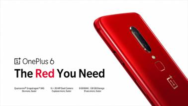 OnePlus 6 Red Edition with 8GB RAM launched at Rs 39,999; sale to begin on July 10