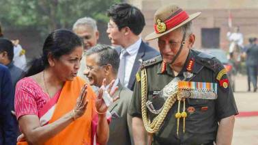 Nirmala Sitharaman hands over 'Made in India' engines to Army