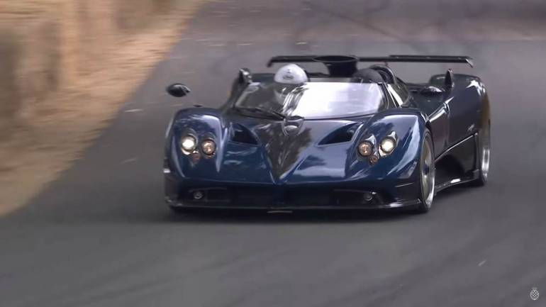 race car driver uses a pagani zonda r as wall art in $8-mil miami
