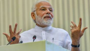 Earlier govts, then Congress President failed to fulfil household electrification promise: PM Modi
