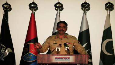 Pakistan army spokesperson tweets pic of late Baloch leader disrespecting Indian flag