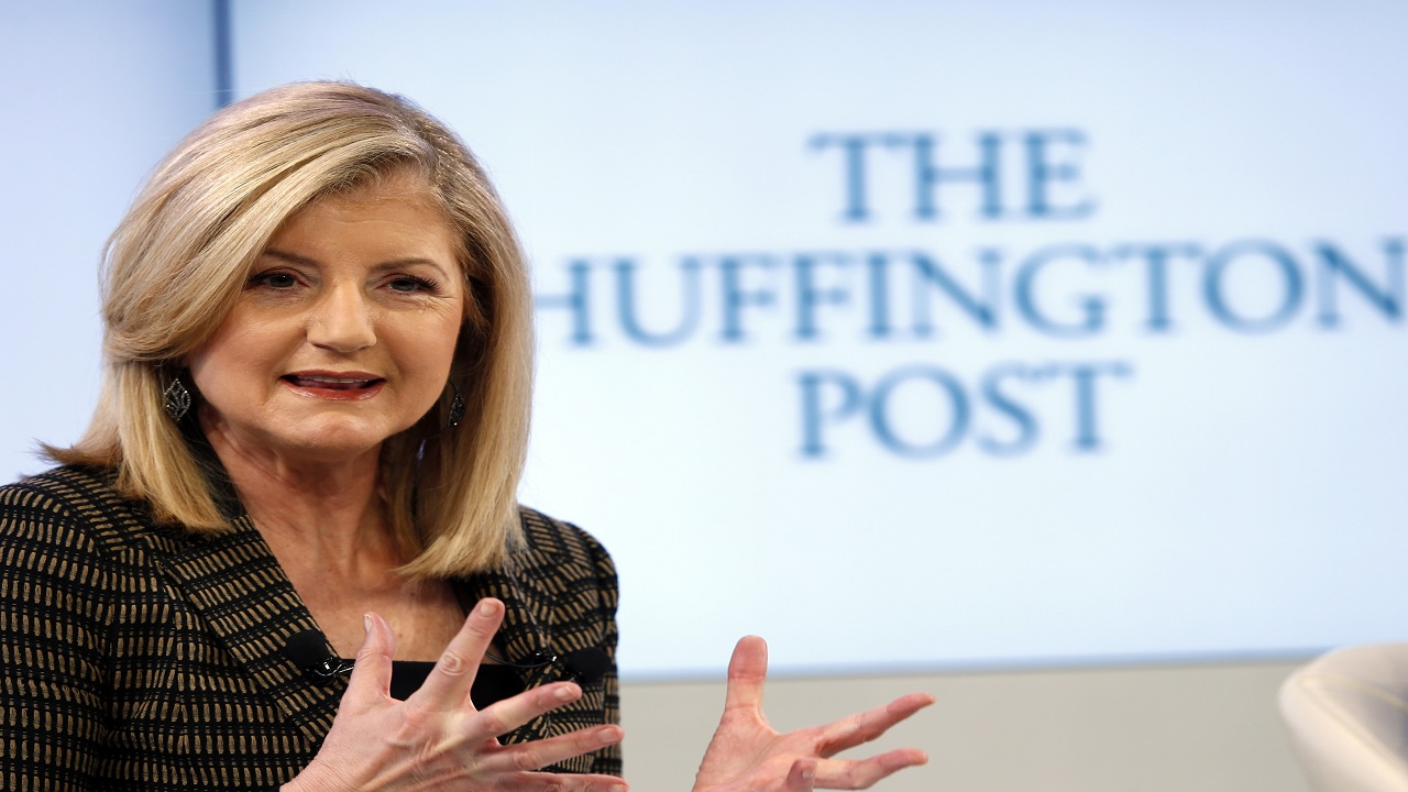 Answer: Arianna Huffington (Image: Reuters)