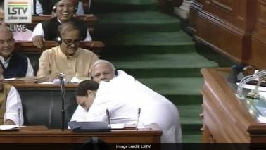 Mumbai Congress puts up posters of Rahul-Modi hug
