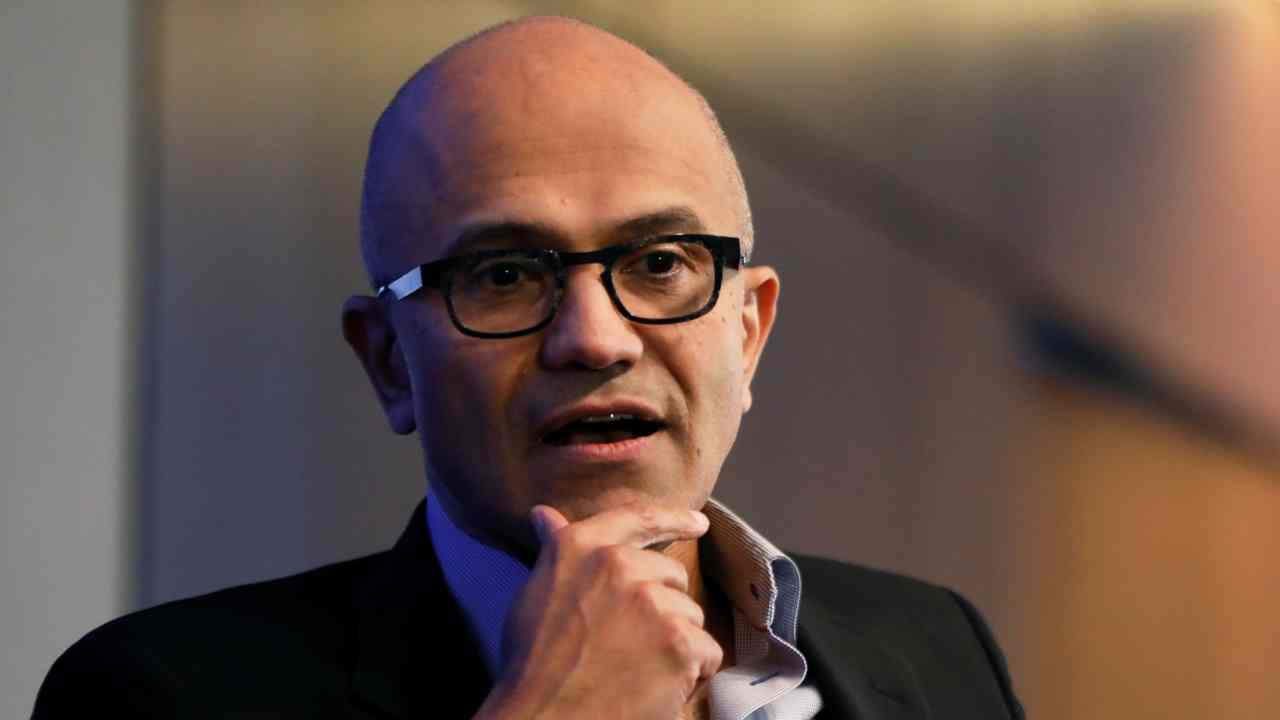 "Satya Nadella | The CEO of Microsoft, Nadella once said that women must trust ""karma"" instead of asking for a pay hike, since hard work will always be rewarded. After making this controversial statement about gender pay gap, Nadella apologised and said he was ""completely wrong"". (Image: Reuters)"