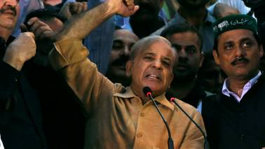 PML-N will work to create environment for Kashmir to join Pakistan if elected: Shehbaz Sharif