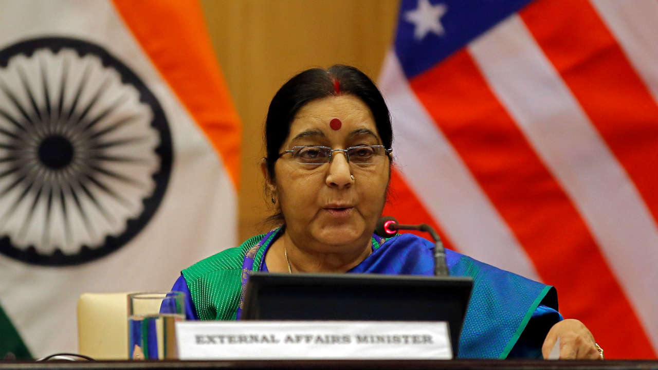 No 8 | India's External Affairs Minister Sushma Swaraj | @SushmaSwaraj | 11.8 million followers (Image:  Reuters)
