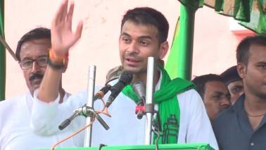 Tej Pratap Yadav floats 'Lalu Rabri Morcha' urges mother to contest from Saran